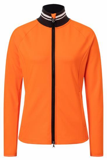 Damen Powerstretchjacke Coralie Orange