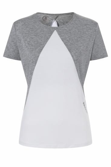 Damen T-Shirt Neela Hellgrau