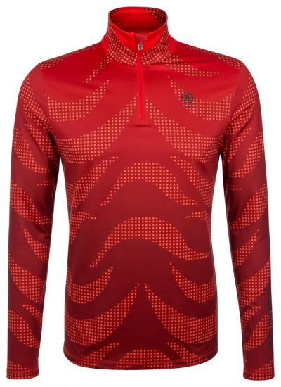 Herren First Layer Skishirt Verti Rot