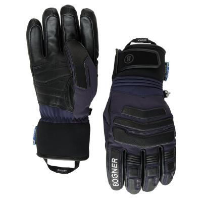 Herren Skihandschuhe Agimo R-Tex XT Schwarz Blau