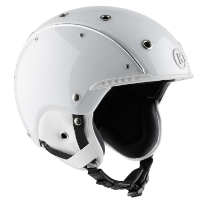 Skihelm Pure White
