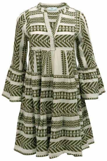 Devotion Damen Sommerkleid Khaki Sailerstyle