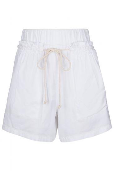 "Damen Bermuda Shorts ""Might"" Weiss"