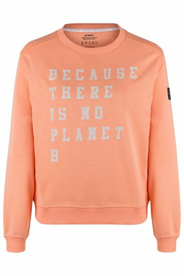 Damen Sweatpullover Because Washed Peach