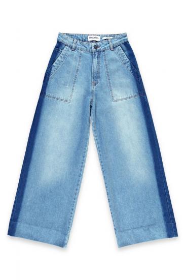 "Damen Jeans ""Soccermom"" Denim Blau"