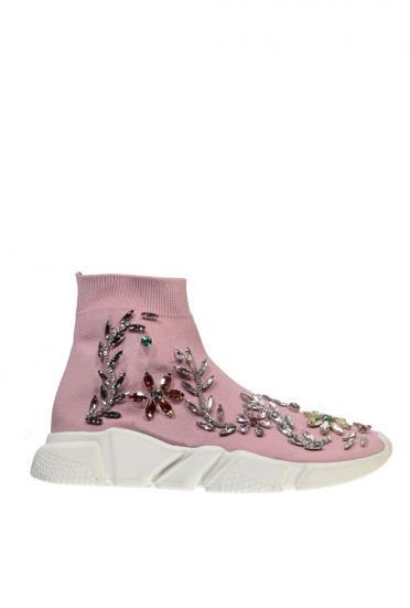 "Damen Sneaker ""Rallie Rhinestones"" Rosa"