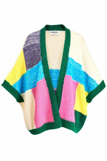 Damen Strickjacke Zalista Multicolor