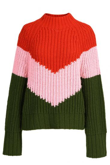 Damen Strickpullover Wavinci Multicolor