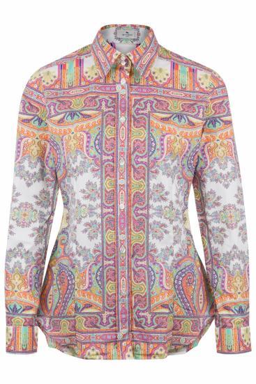 Damen Bluse mit Print Bunt