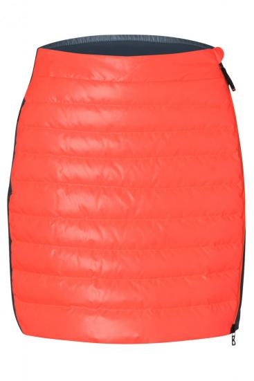 Damen Daunenrock Cloe-D Orange