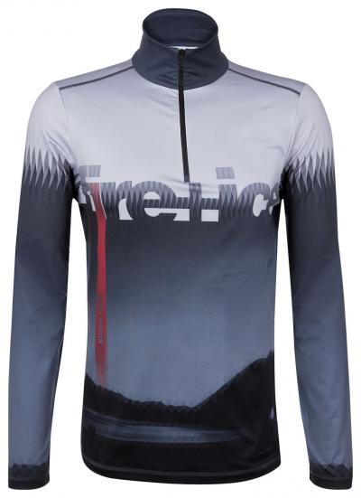 Herren First Layer Skishirt Oli Grau