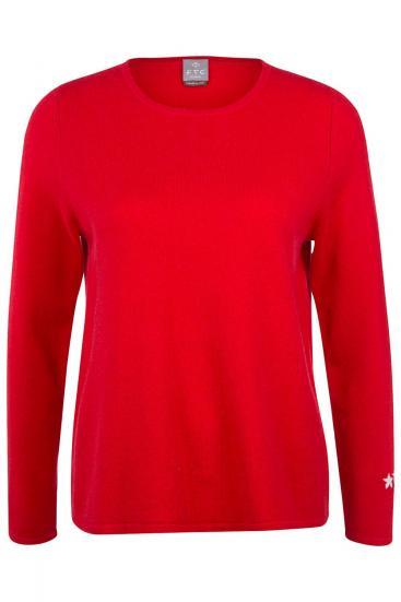 Damen Kaschmirpullover Rot
