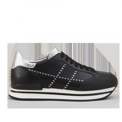 Damen Sneaker H222 Schwarz