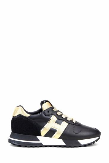 Damen Sneaker H383 Schwarz