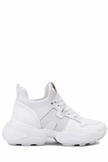 Damen Sneaker Interaction Slip On Weiss