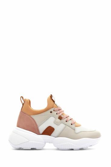Damen Sneaker Interaction Slip On Beige