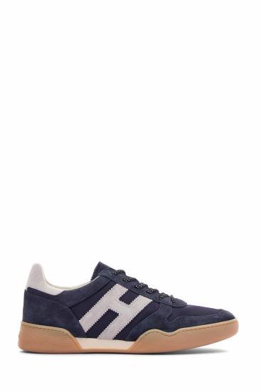Herren Sneaker H357 Allacciato Marineblau