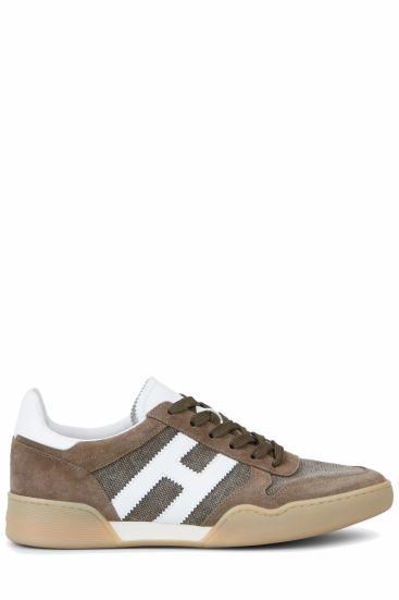 Herren Sneaker H357 Sporty Braun