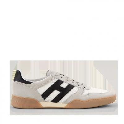Herren Sneaker H357 Sporty Grau Weiss