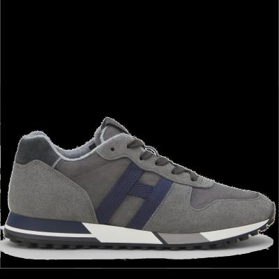 Herren Sneaker H383 Retro-Running Grau