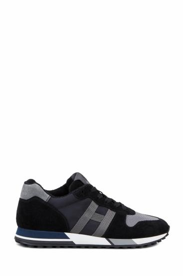Herren Sneaker H383 Schwarz/Grau