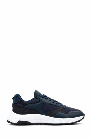 Herren Sneaker Hyperlight Allacciato Marineblau