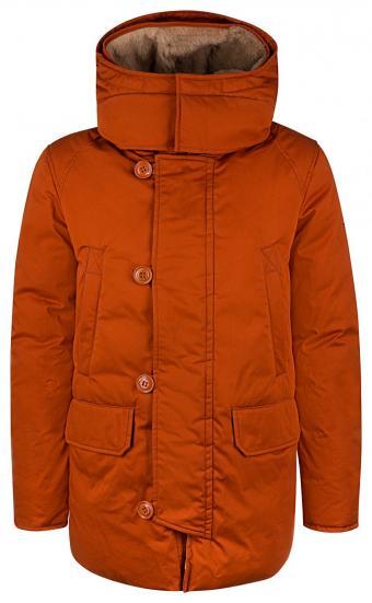 Herren Daunenparka Boulder Orange