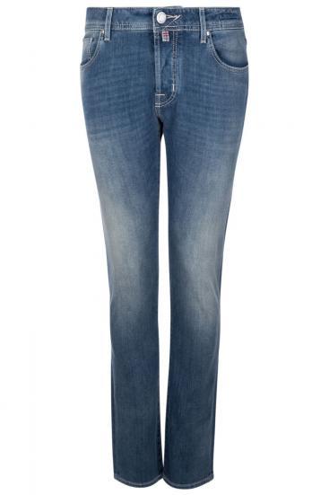 handmade Herren Jeans Comfort Denim Hellblau