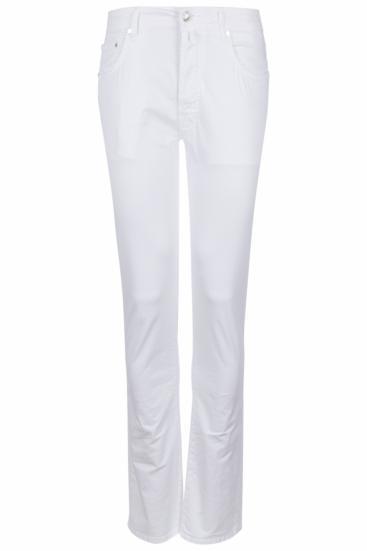Herren Stoffhose 688 Bianco Ottico