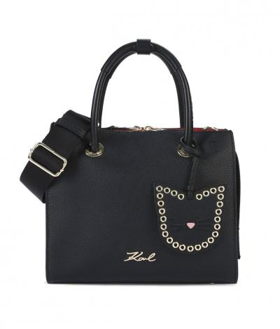 Damen All Mini Shopper Schwarz