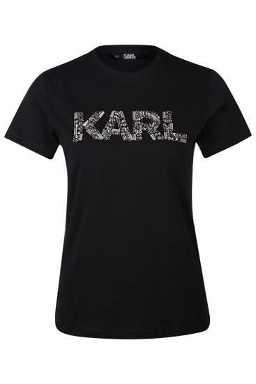 """Damen """"Karl Oui"""" T-Shirt Schwarz"""
