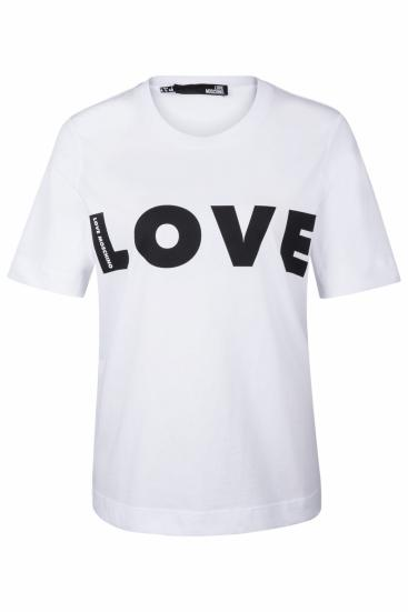 Damen Love T-Shirt Weiss