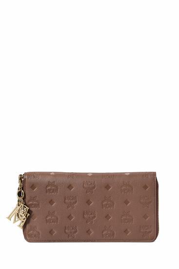Damen Geldbörse Klara Leather LRG Dunkelbraun