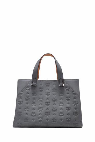 Damen Handtasche Essential Leather LRG Charcoal