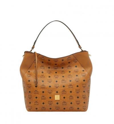 Damen Handtasche Klara Visetos LRG Cognac