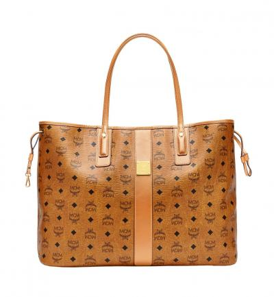 Damen Reversible Shopper Project Large Cognac