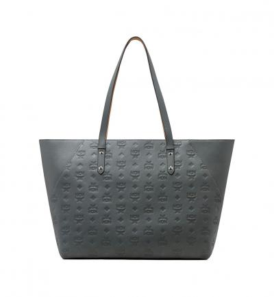 Damen Shopper Klara Leather Charcoal