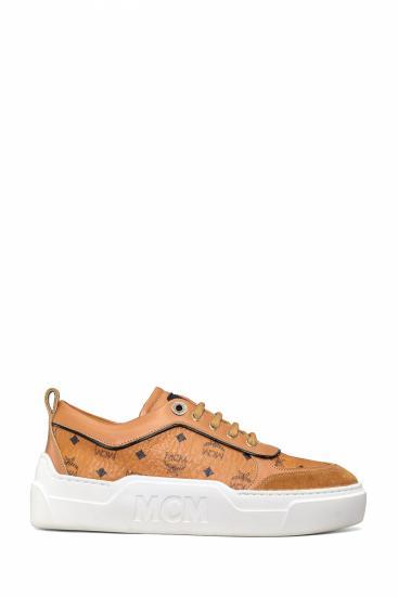 Damen Sneaker Cognacbraun