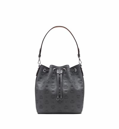big sale 63cf2 2801c MCM Damen Tasche Essential Leather SML Charcoal | SAILERstyle
