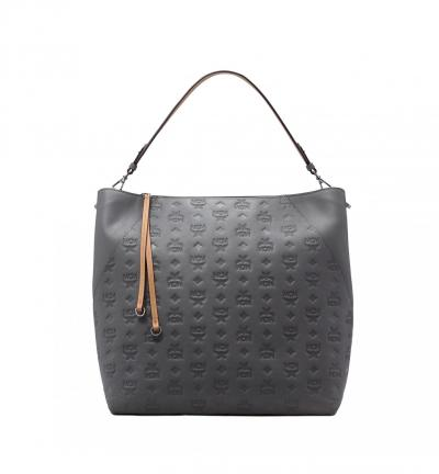 Damen Tasche Klara Leather LRG Charcoal