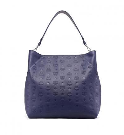 Damen Tasche Klara Leather LRG Navy Blue
