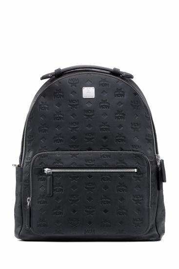 Rucksack Stark Leather 040 Schwarz
