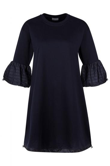 Damen Jerseykleid Navy