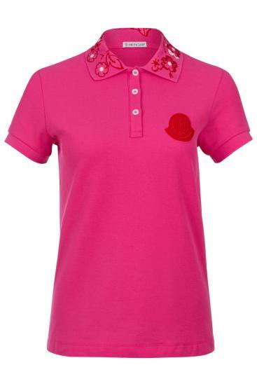 Damen Poloshirt Pink