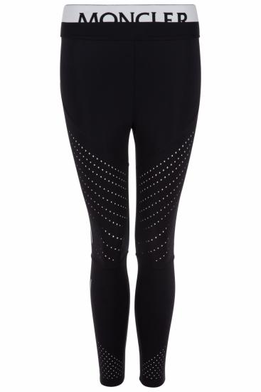 Damen Sportleggings Schwarz