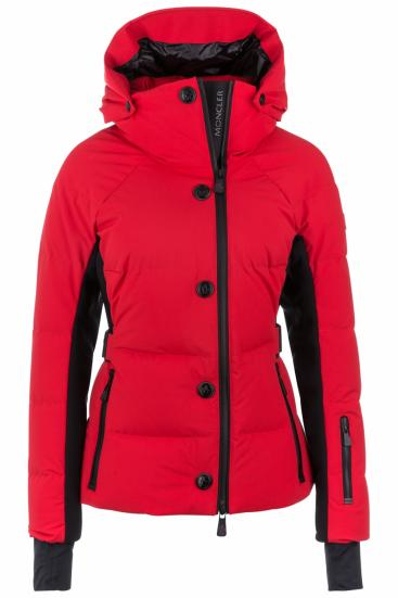 Damen Skijacke Guyane Rot