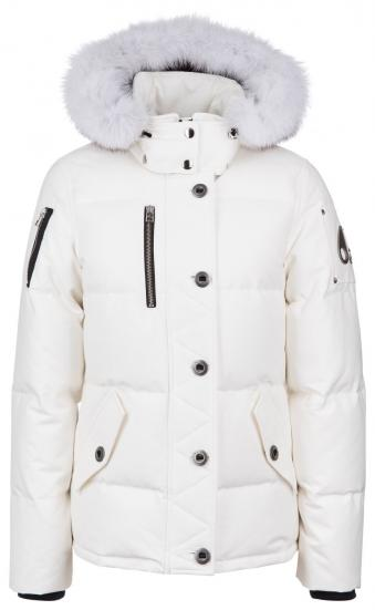 Damen Daunenjacke 3Q Snow White