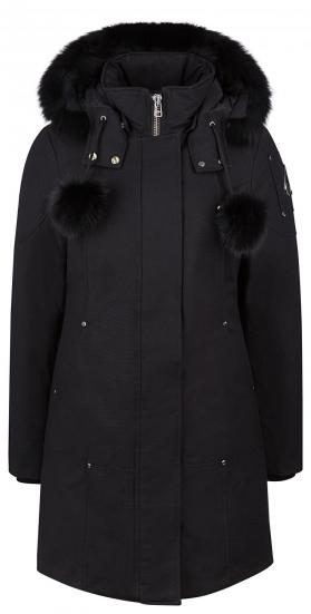Damen Daunenparka Stirling Schwarz