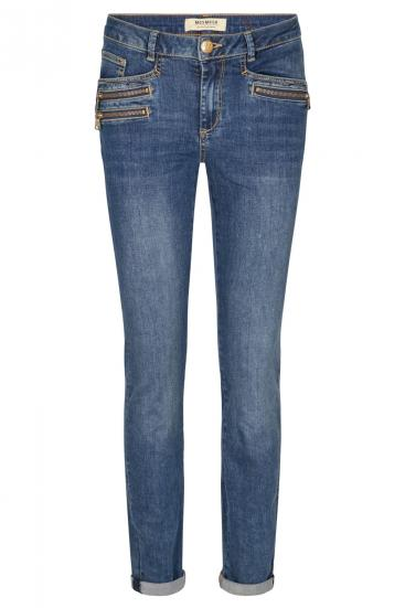 Damen Berlin Favourite Jeans Blue Denim