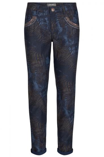 Damen Naomi Cool Printed Jeans Mood Indigo